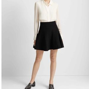 Black Pleated Club Monaco Skirt Size Small